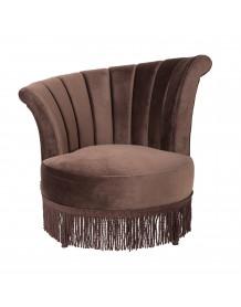 Brown Flair Lounge chair