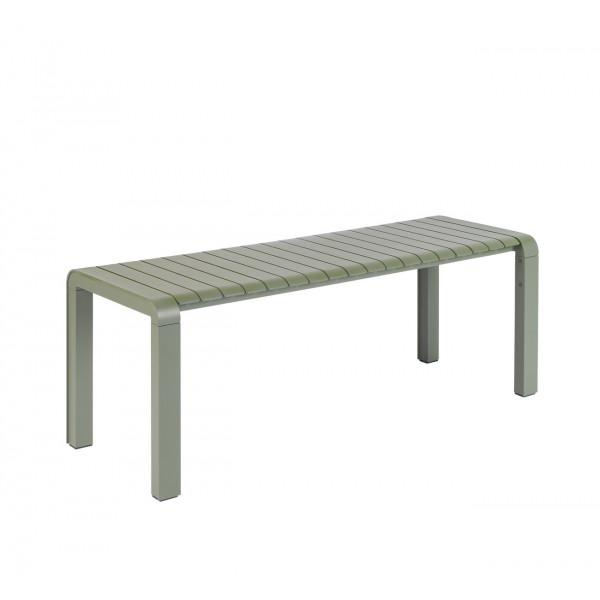 VONDEL - Banc de jardin en aluminium vert