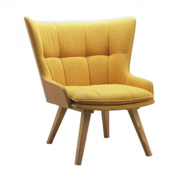 yellow design armchair