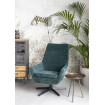 RETRO LOUNGE - Green living room armchair