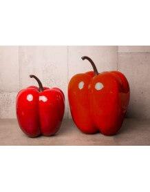 Poivron rouge décoratif