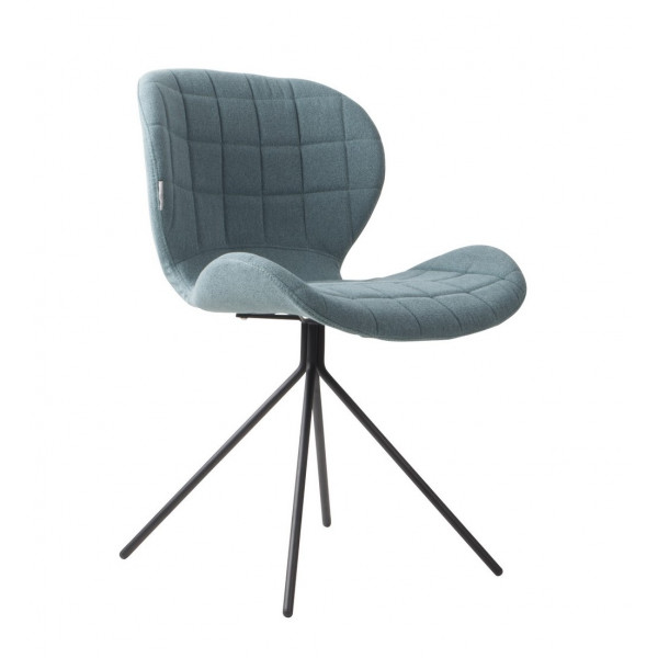 Chaise design OMG bleue chez Zuiver