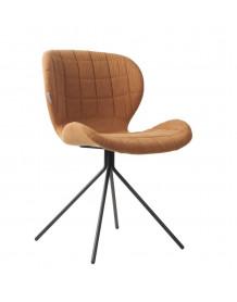 Chaise design OMG tissu camel