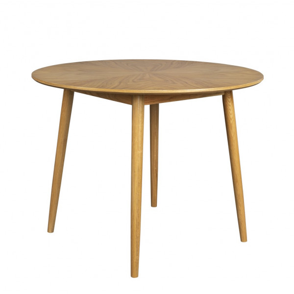 FAB - wooden round dining table