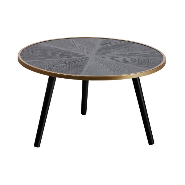 BELLA - Round low black table