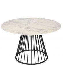 CIRCLE - Table de repas aspect marbre