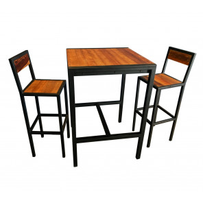 FACTORY - Heigh dining set industrial style