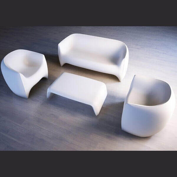 VONDOM: Blow outdoor lounge