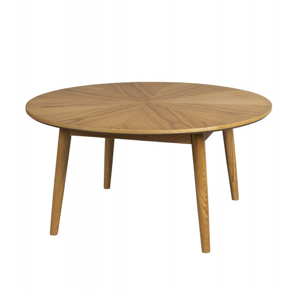 VENISE - Table basse en bois naturel