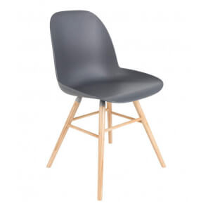Grey Dining chair Zuiver