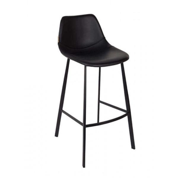 Chaise de bar noir 80 cm