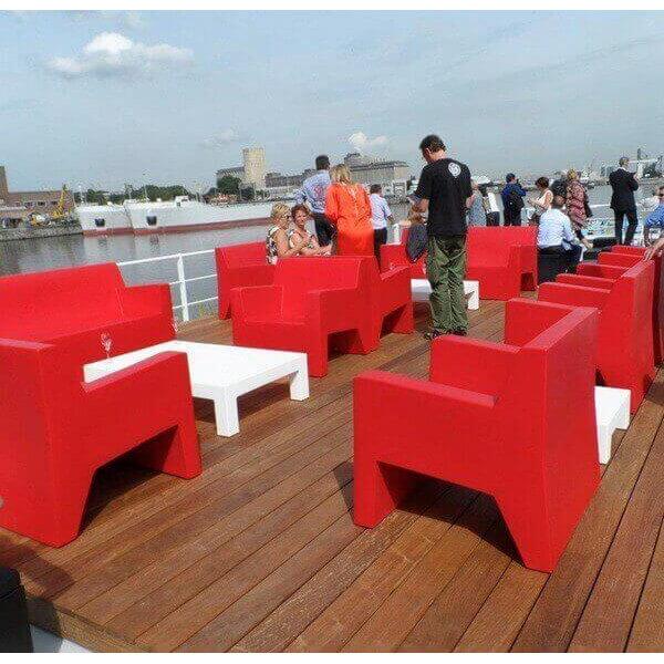 Salon de jardin Jut Vondom mobilier exterieur bar terrasse cafe ...