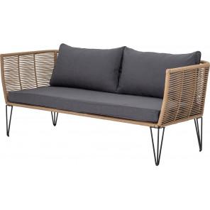 MUNDO - Natural outdoor sofa