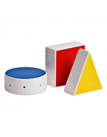 Mondrian salt and Pepper table set