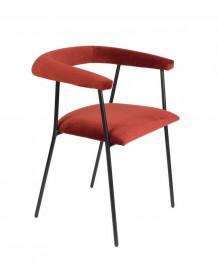 Haily - Velvet dining chair
