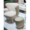 JAZZ - White Sheep Fur Armchair