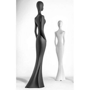 Penelope design statue MyYour Black mat
