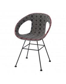 Maya- dinning chair - Black