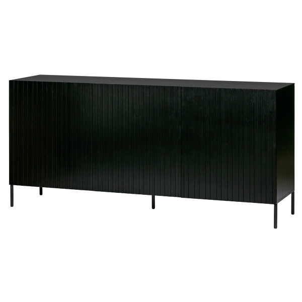 meuble commode design bois noir