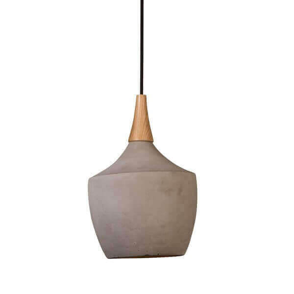Vaso concrete pendant lamp