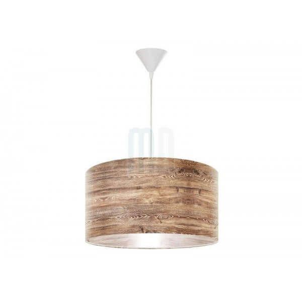 Suspension nature mathi design lustre imitation bois for Suspension nature