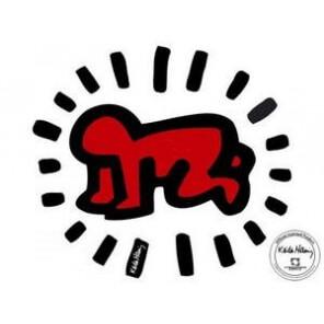 """Sticker mural """"Baby"""" de K. Haring"""