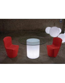 Table lumineuse Arthur Slide ronde