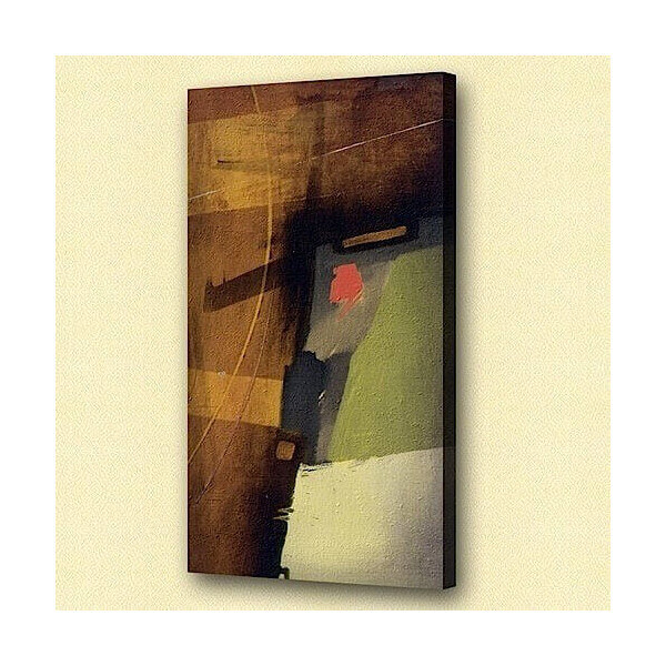 Abstract oil painting Burglar