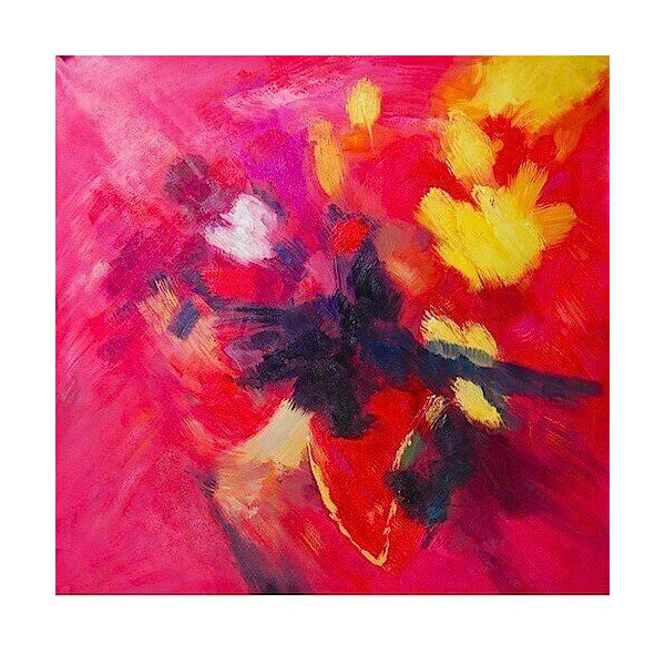 Oil painting Flamboyant