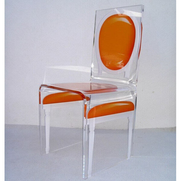Chaise acrylique Aitali 209