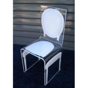 Transparent chair by Aitali