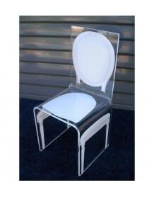 Chaise transparente Aitali