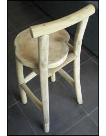 Natural bar chair