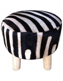 Tabouret nature Zebre