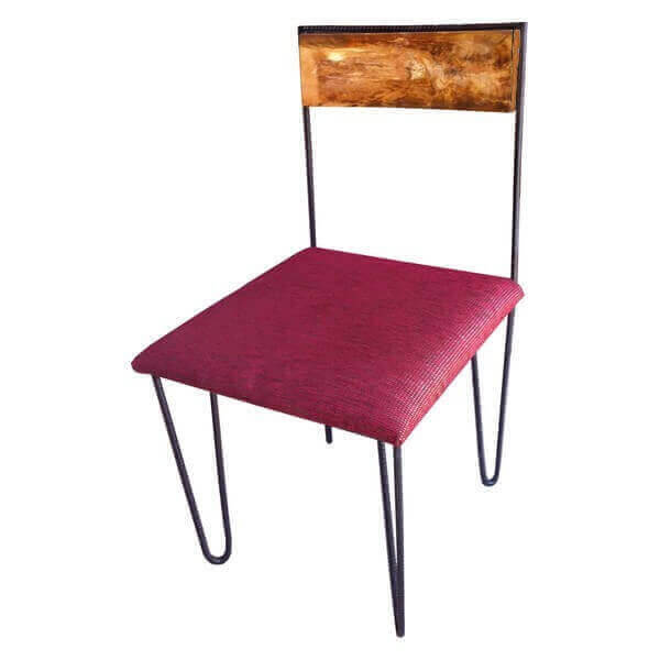 Chaise design artline au look pop vintage des ann e 60 70 for Chaise annee 70