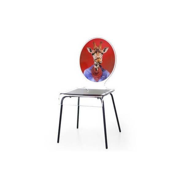 acrila chaise en acrylique acrila motif graph acrila chaise transparent en verre acrylique. Black Bedroom Furniture Sets. Home Design Ideas