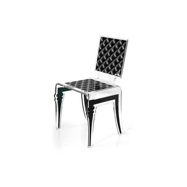Chaises fauteuils bancs tabourets mathi design for Chaise bascule transparente