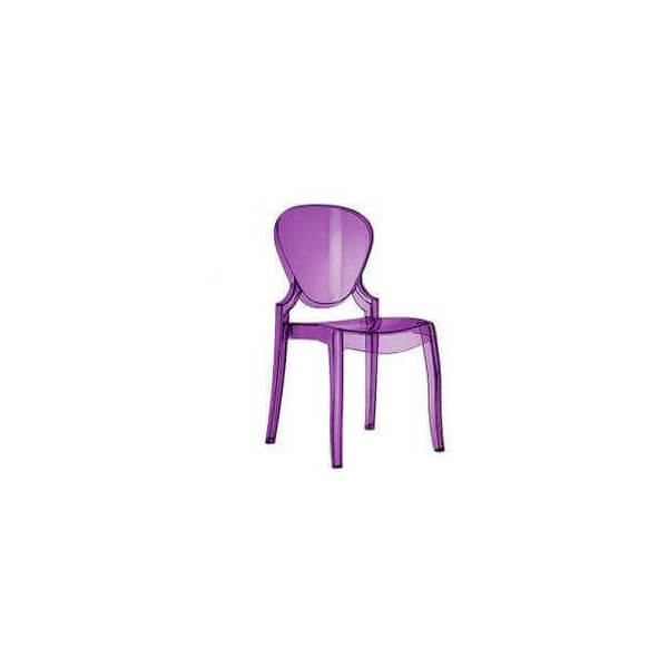 QUEEN - Outdoor design chair by Pedrali