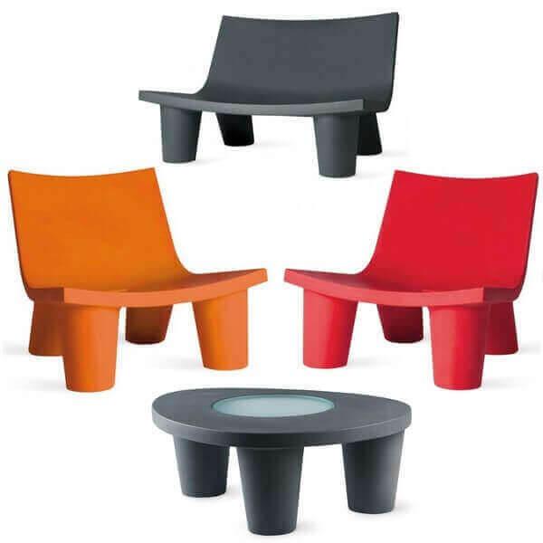 Slide garden furniture Large