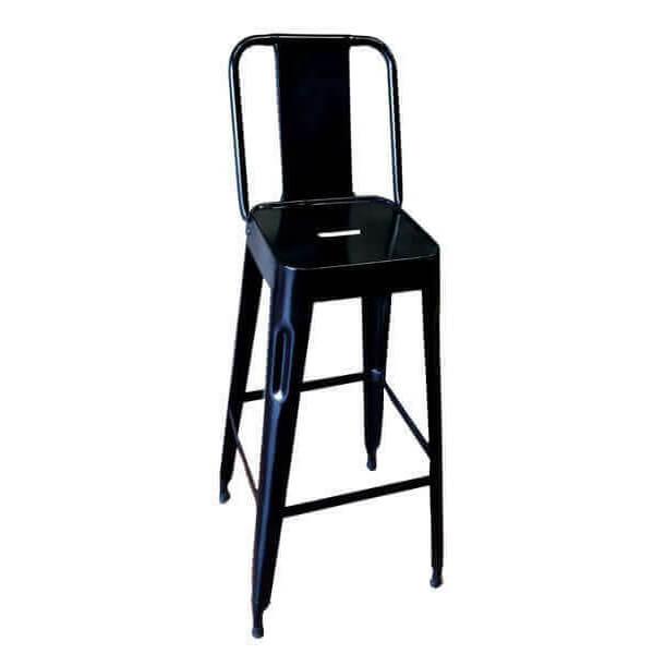 Chaise haute acier industriel usine for Chaise haute industrielle