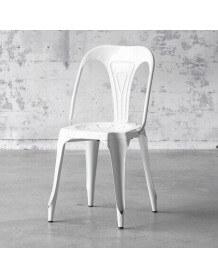 White Multipl's chair