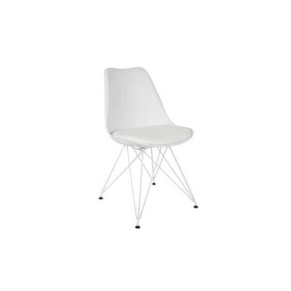 White XZ2 dining chair
