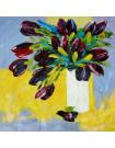 Tableau Tulipes Noires