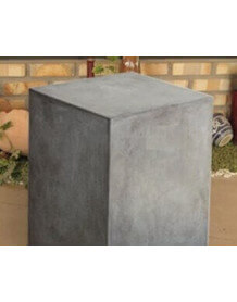Concrete contemporary cube