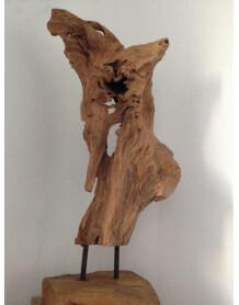Sculpture en bois Nature