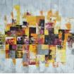 Tableau abstrait couleur