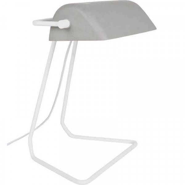 Lampe à poser béton design