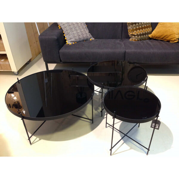Glossy Black Coffee Table Several Dimensions