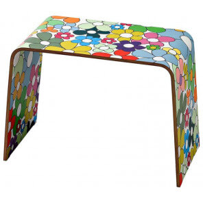 Colored side table