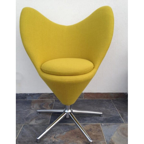 Fauteuil Twin moutarde